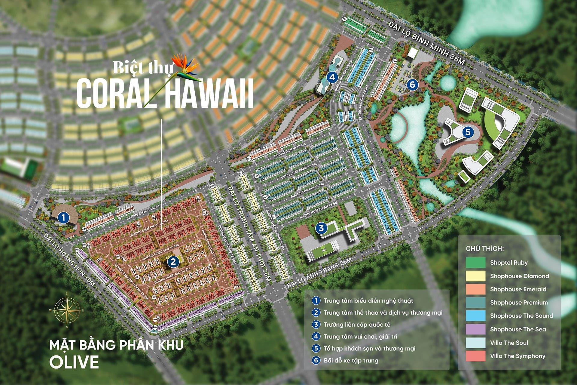 Dự án biệt thự Coral Hawaii – biệt thự Meyhomes Phú Quốc